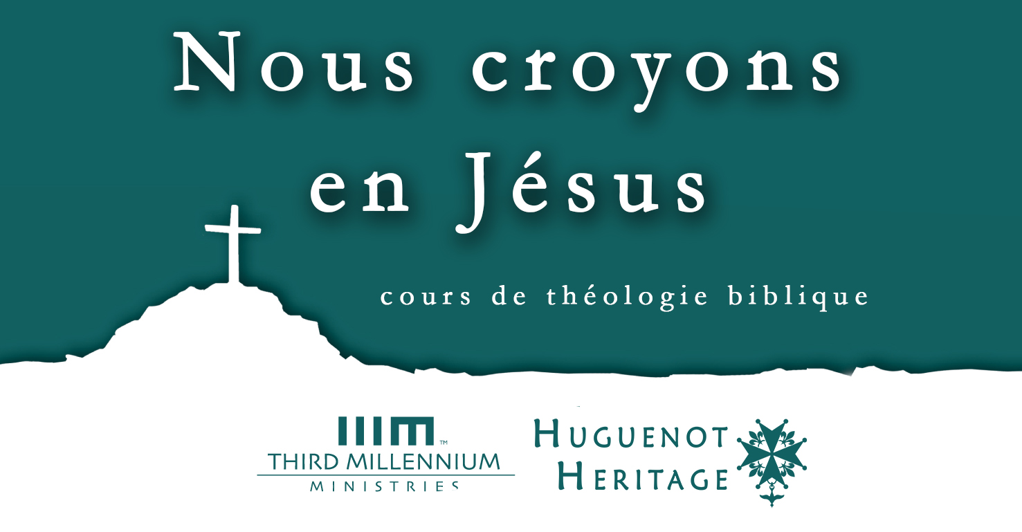 Main - Nous Croyons on Jésus | cours de théologie biblique